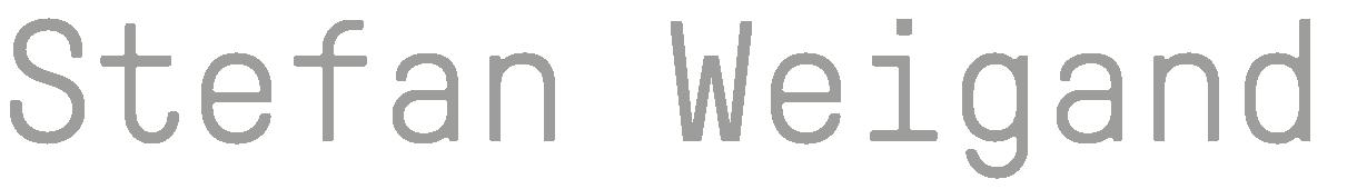Stefan Weigand | Gutes gestalten